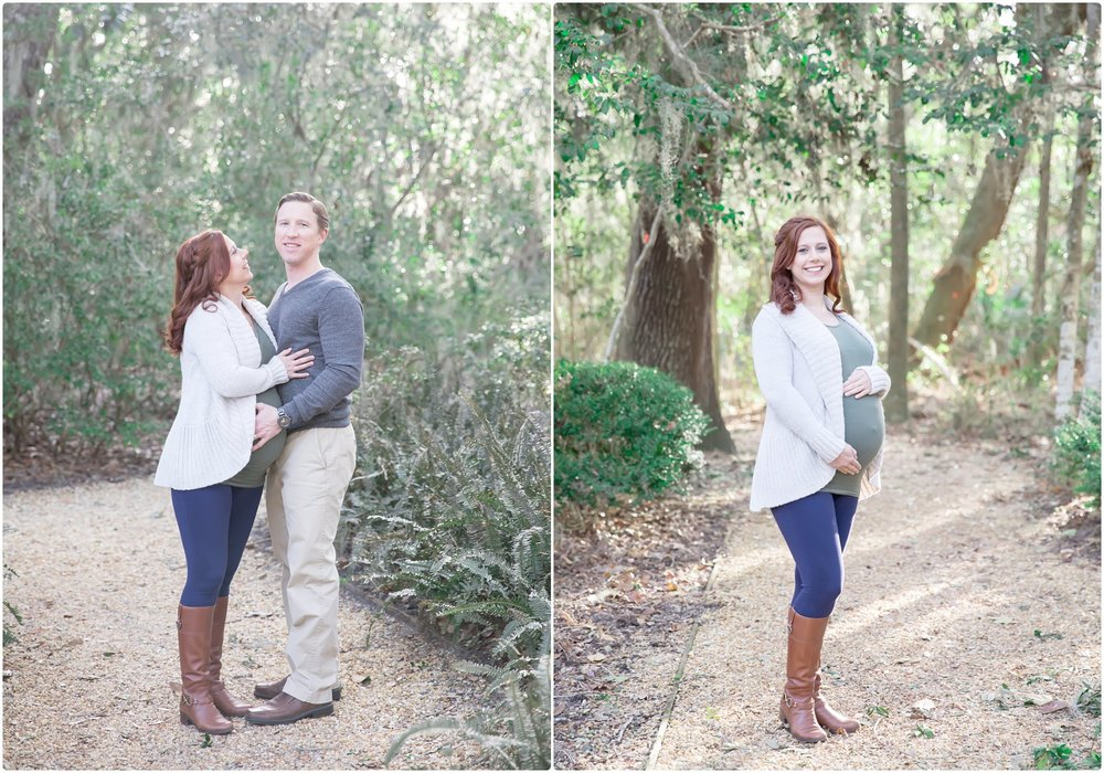 family portrait session at christ church | candace hires photography