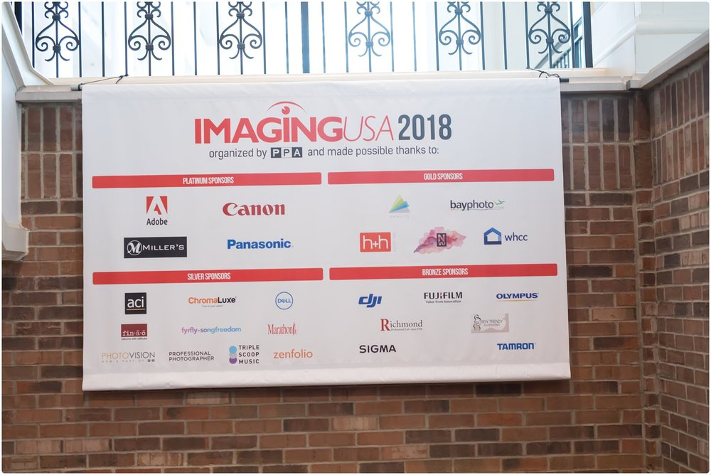 Imaging USA banner in Nashville, TN