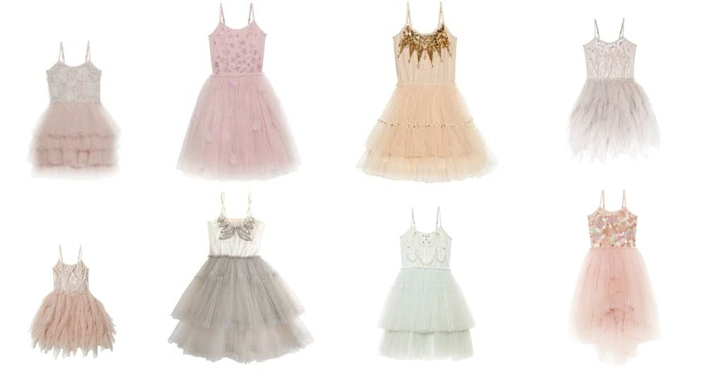 tutu du monde dresses for glitter sessions