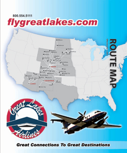 great lakes aviation route map Great Lakes Airlines Ticket Jacket Onecreativebird great lakes aviation route map