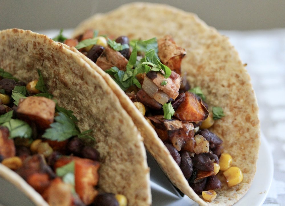 Honey-Lime Sweet Potato Tacos