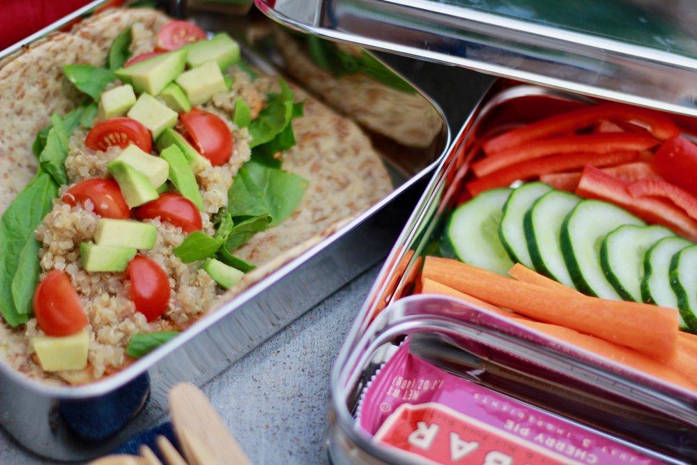 Quick Hummus and Quinoa Wraps - Wholesome LLC