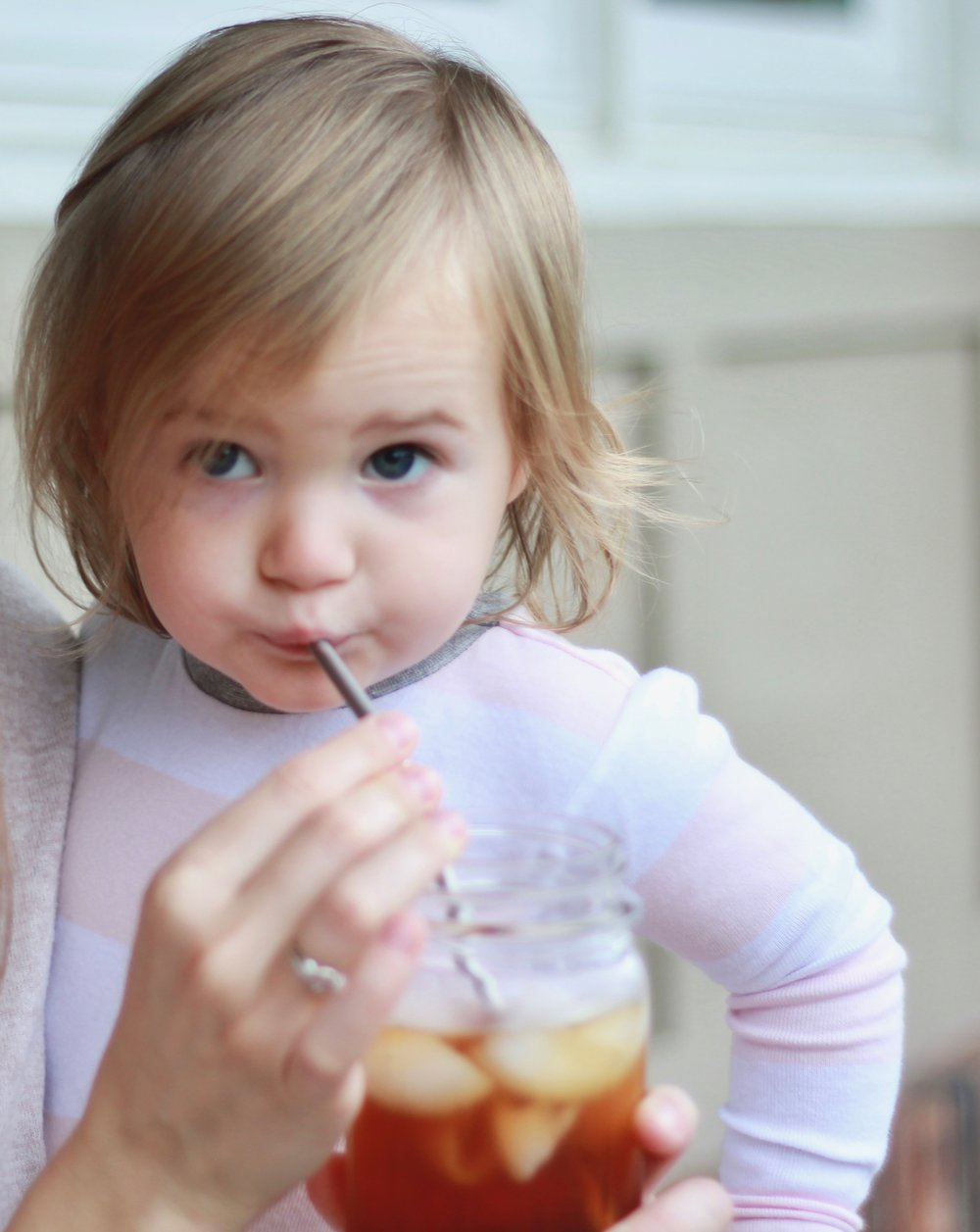 Eleni loves drinking tea, almond milk, and smoothies out these straws!