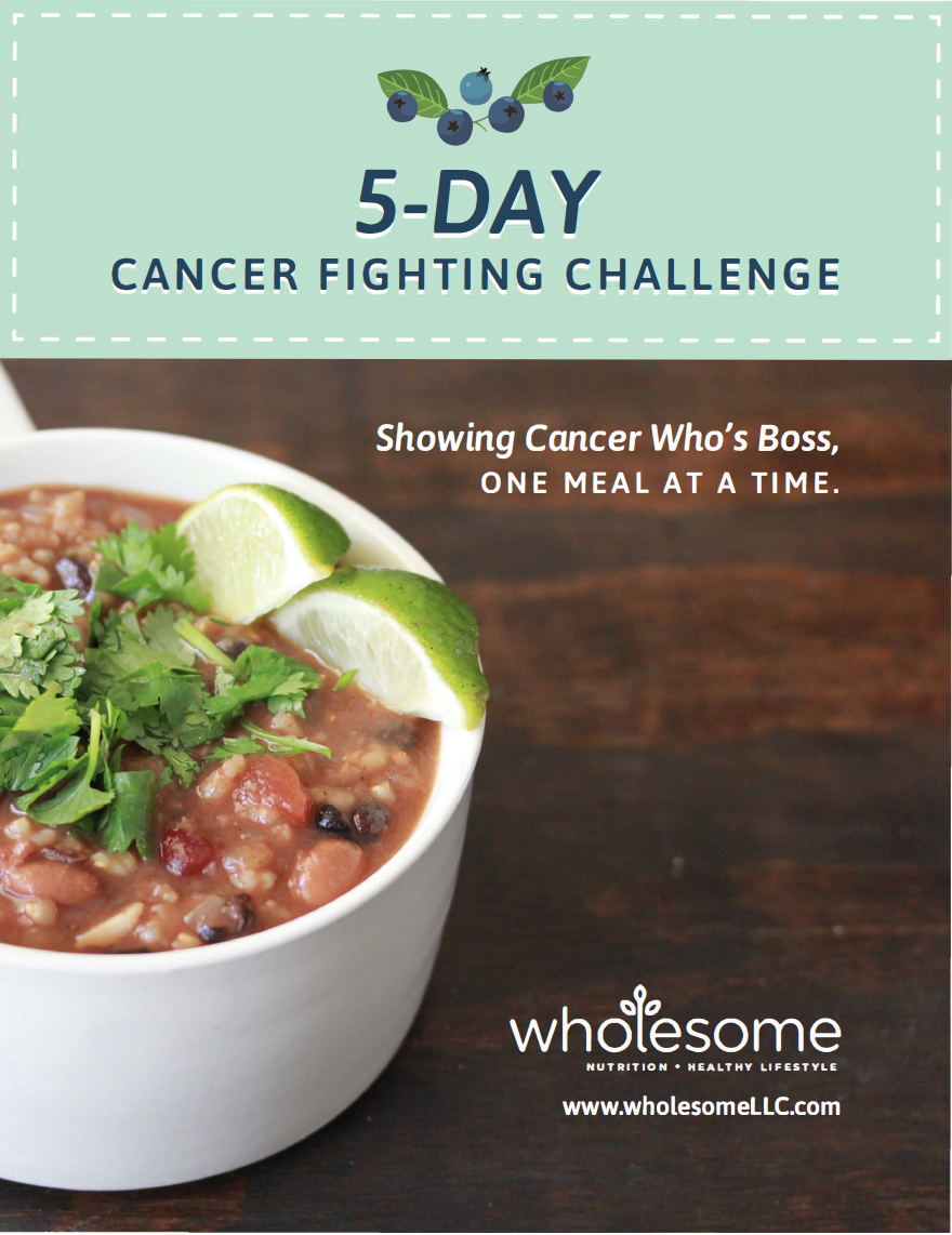 Cancer Fighting Challenge | Wholesome LLC