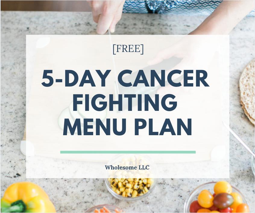 Free Menu Plan | Wholesome LLC