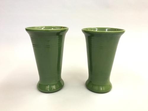 Pair Bauer Vases Modern Love