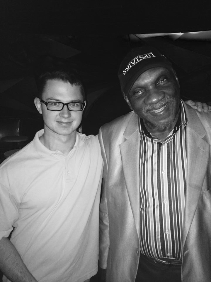 Nate Hook with Harold Mabern in NYC