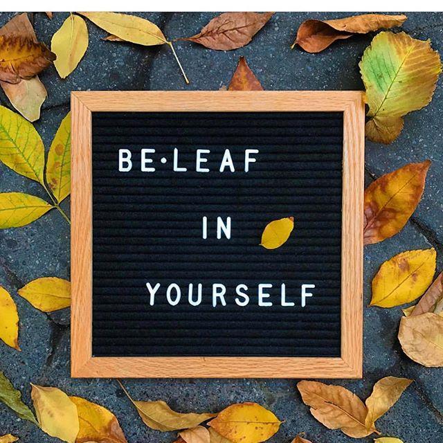 Fall affirmations !  Never stop beleaf-ing 🍂🍁🍂 #ww242#wwbahamas#dailyaffirmation #positivevibes #qotd #fallvibes