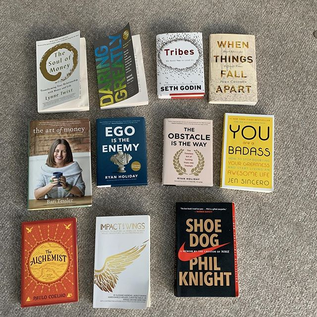 My favorites from 2018... including Audio books Leap Frog by Nathalie Molina Nino,  Belong by Radha Agrarval and the Gifts of Imperfection by Brene Brown. Any recommendations for 2019.?.