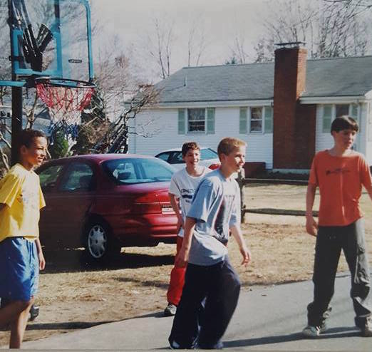 Back in the day, when playing sports just meant hanging out with your best friends.