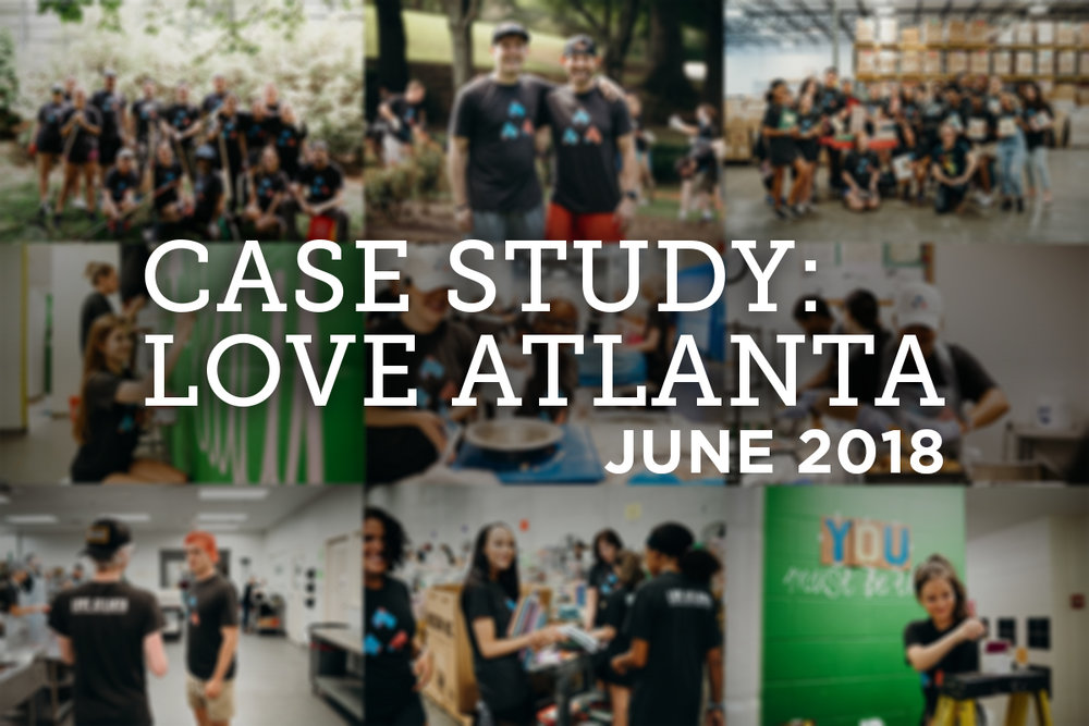 We got the opportunity to work with Love Atlanta, an amazing non-profit dedicating to love and serve it's city.  Learn more about this project!