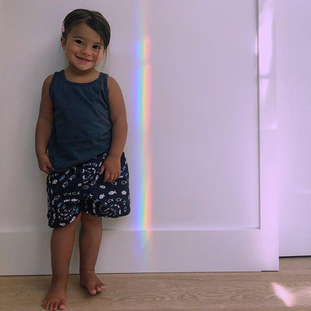 My ultralight beam.  #ClooneyBloom