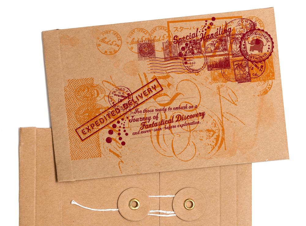 sales kit: envelope