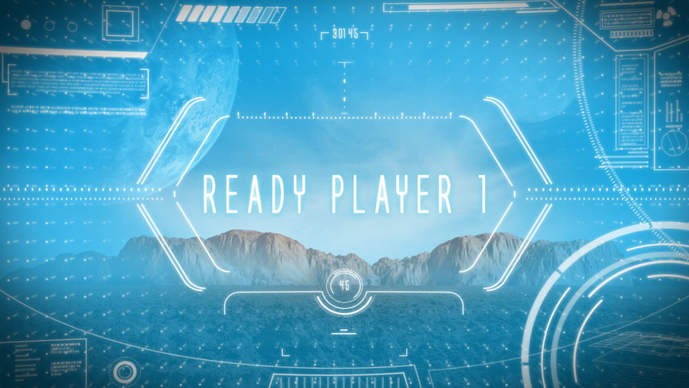 READY PLAYER 1 - TITLE REVEAL
