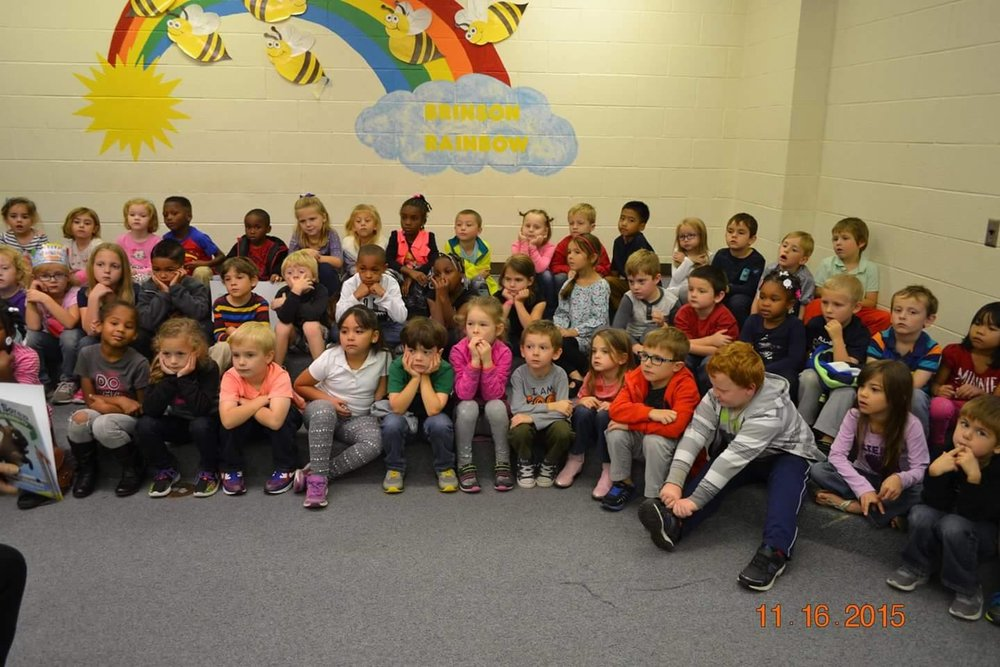 Thanks to the wonderful Kindergartners of Craven County!