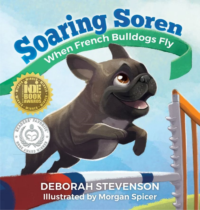 Multiple award-winning, critically acclaimed children's book,  Soaring Soren , inspires children to reach for their own dreams in spite of obstacles.