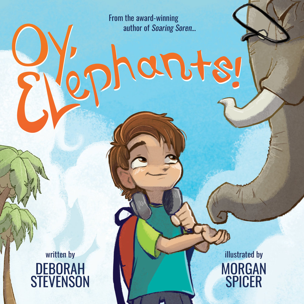 Cover of Oy, Elephants! ... coming soon!