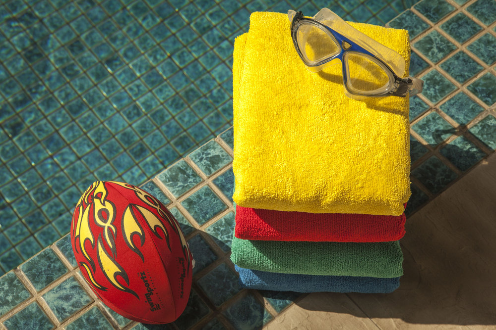 4. Receive compliments everywhere you go (we promise). And if you are a sporting group or business, the personalised towels are a great way to promote your group or brand! -