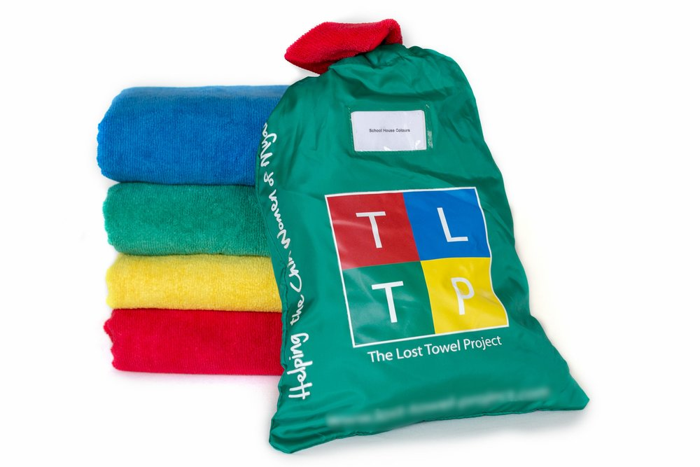 3. Each full-sized towel is packaged in a specially designed waterproof bag and delivered to you. -