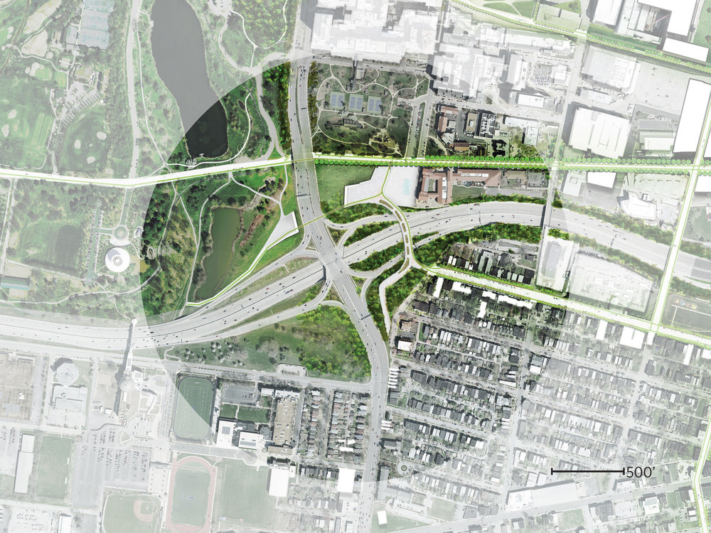 Plan at Forest Park Gateway