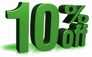 green city window & door 10% Homeshow Discount