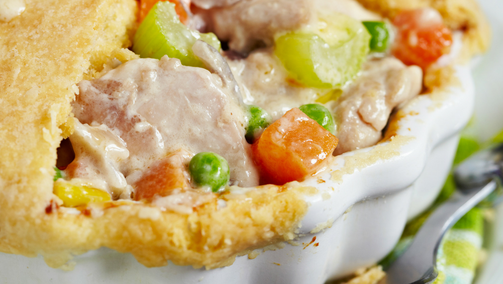 CHICKEN POT PIE -