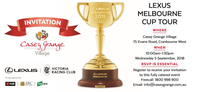 Melbourne Cup Tour invitation.JPG