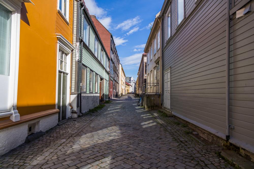 Smugene i Trondheim kalles for Veiter og inneholder masse historie.