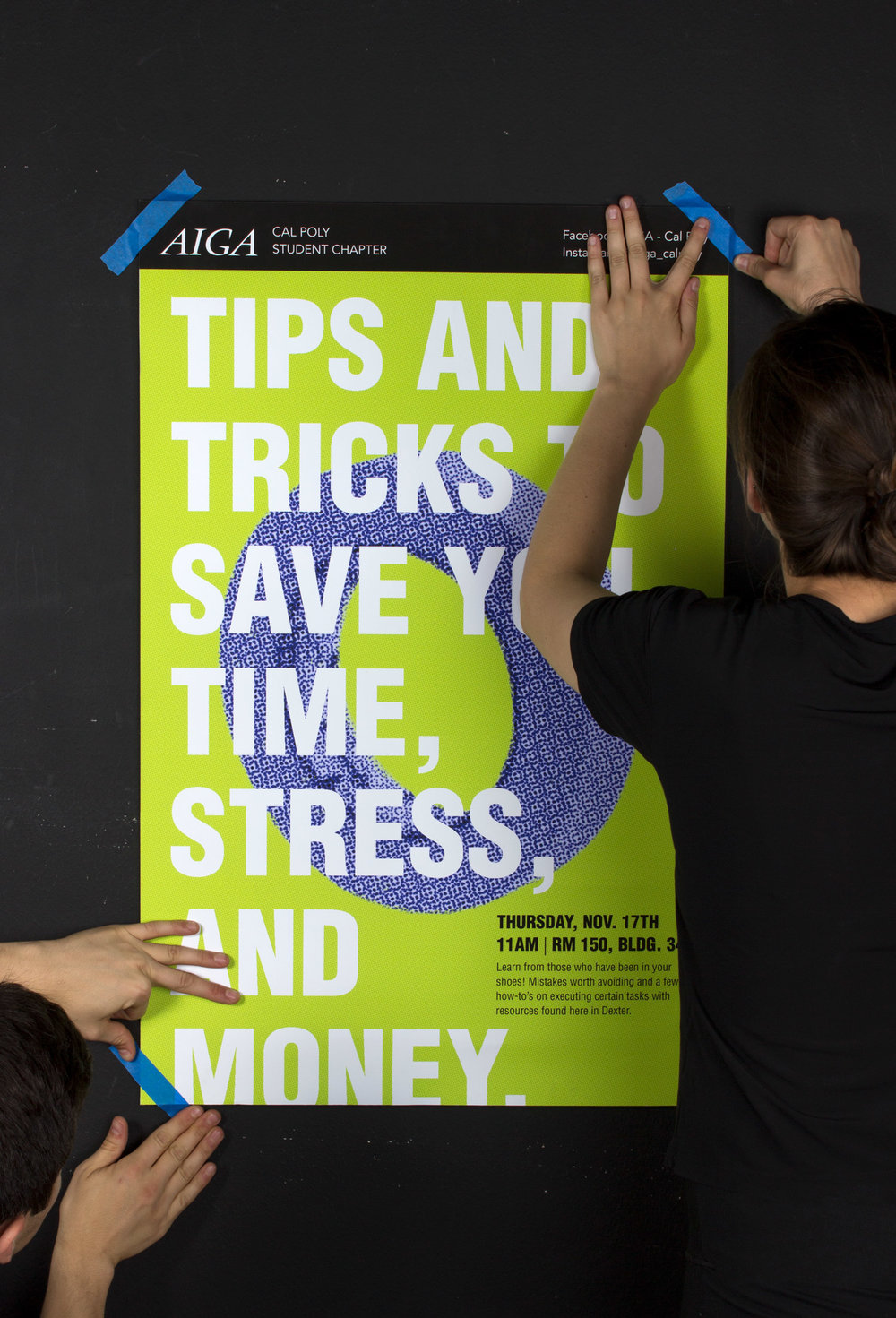 3 poster design tips - Poster Design By Habib Placencia