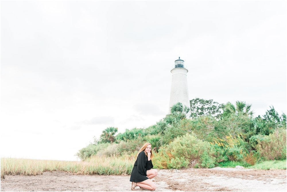 Tallahassee Florida Wedding & Senior Photographer, Anna Senior Session at Saint Marks Lighthouse, Crawfordville Florida_0005.jpg