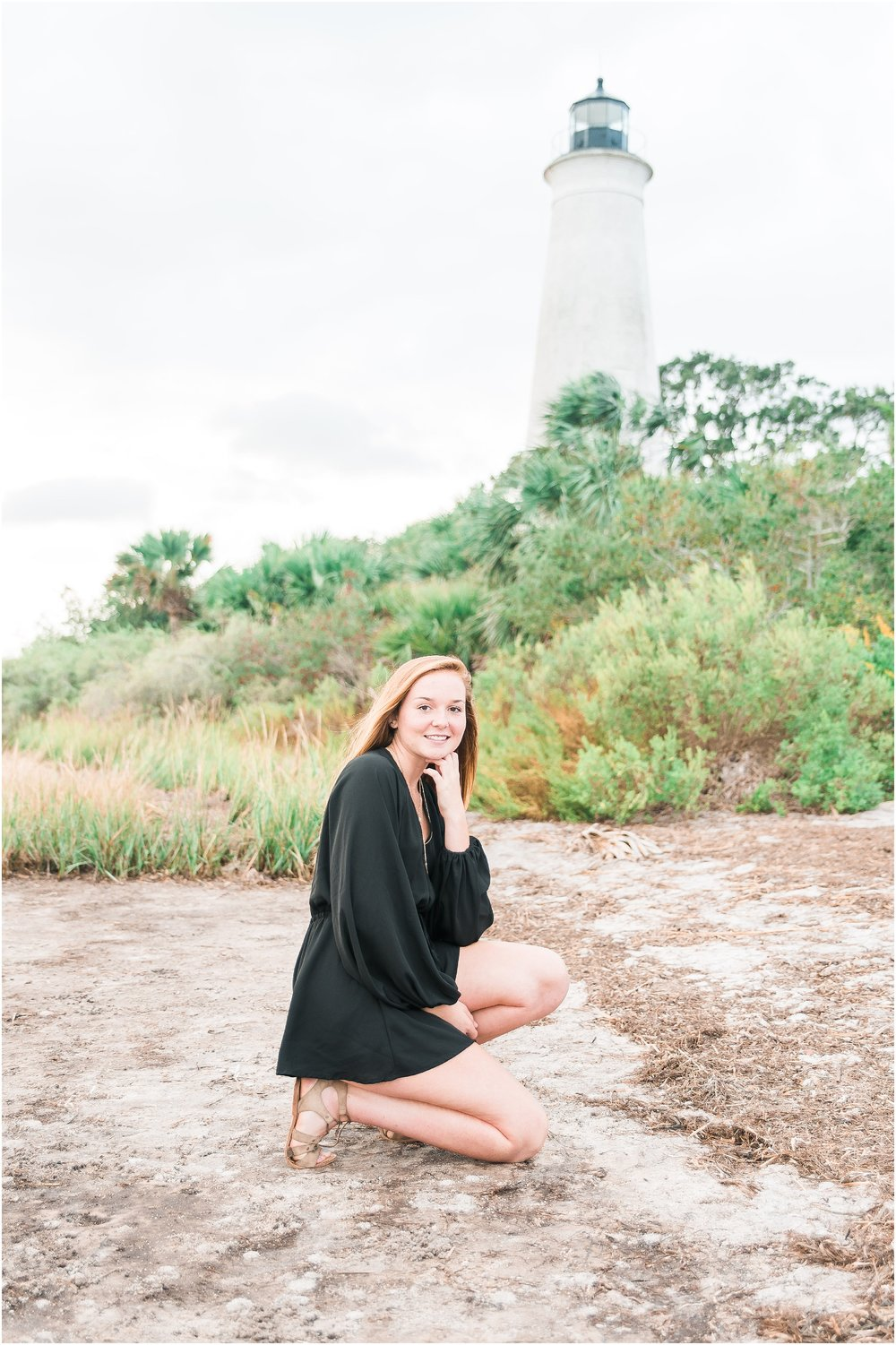 Tallahassee Florida Wedding & Senior Photographer, Anna Senior Session at Saint Marks Lighthouse, Crawfordville Florida_0006.jpg