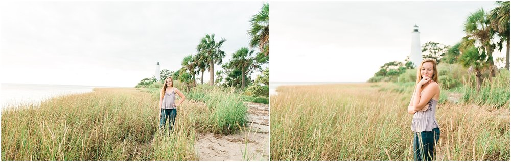Tallahassee Florida Wedding & Senior Photographer, Anna Senior Session at Saint Marks Lighthouse, Crawfordville Florida_0016.jpg