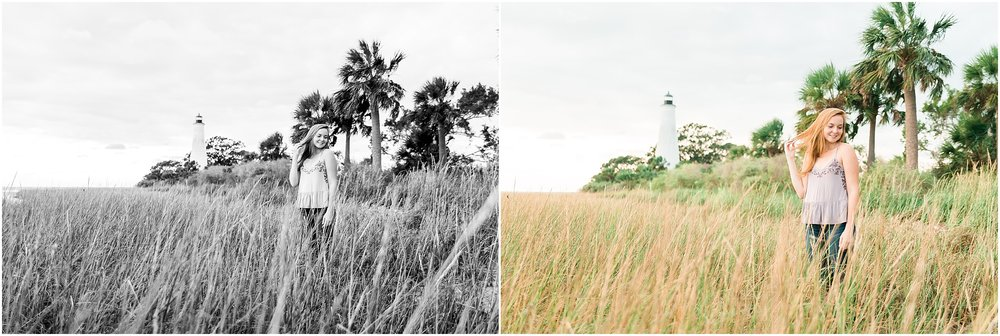 Tallahassee Florida Wedding & Senior Photographer, Anna Senior Session at Saint Marks Lighthouse, Crawfordville Florida_0017.jpg