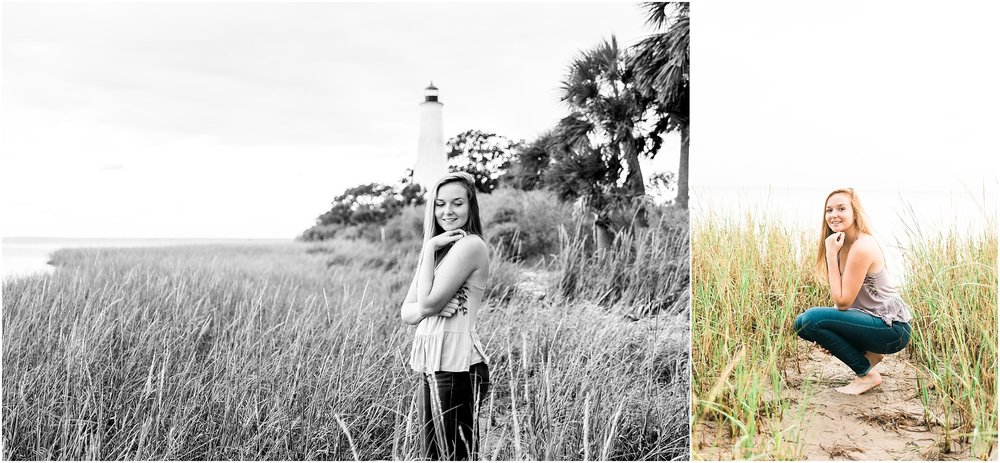 Tallahassee Florida Wedding & Senior Photographer, Anna Senior Session at Saint Marks Lighthouse, Crawfordville Florida_0018.jpg