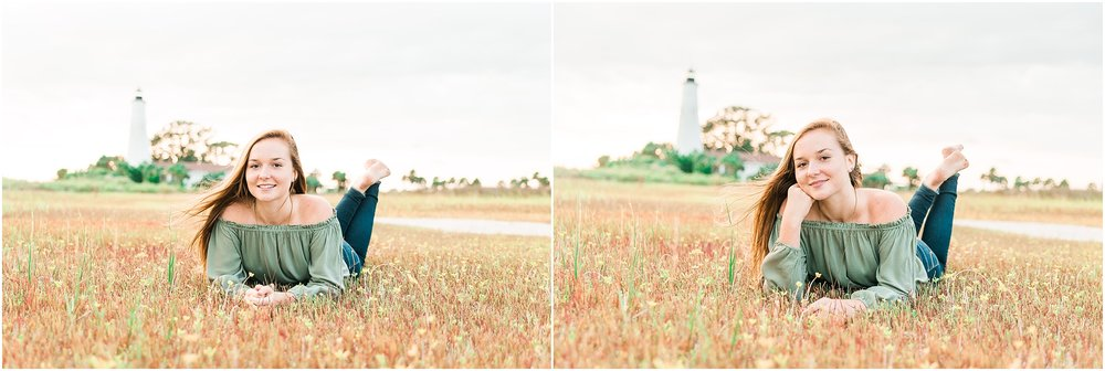 Tallahassee Florida Wedding & Senior Photographer, Anna Senior Session at Saint Marks Lighthouse, Crawfordville Florida_0026.jpg