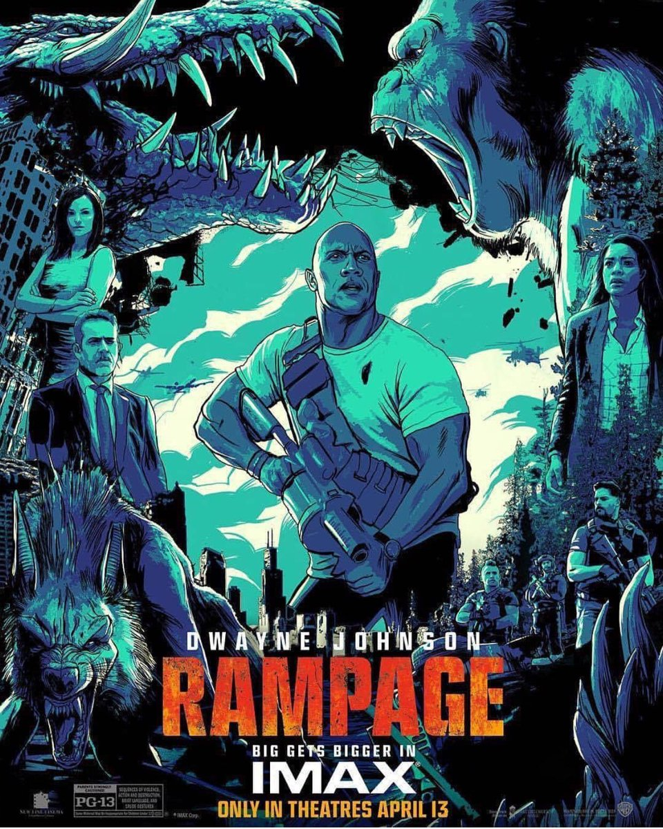 Rampage Movie Review Welkin One