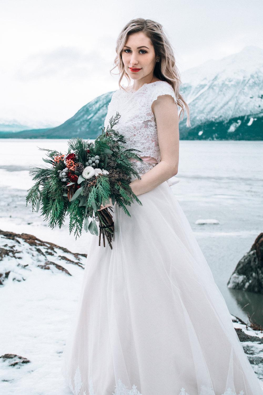 Girdwood, Alaska + Bridal Portraits