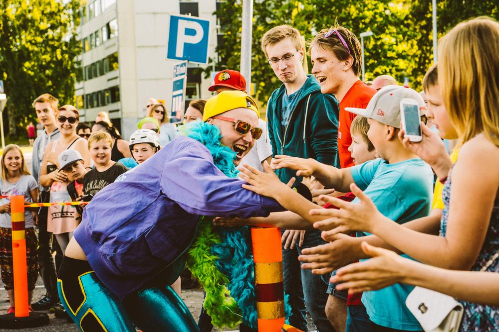 Make Smooth Snacky Slam kiertueella - © Jarmo Katila 2015