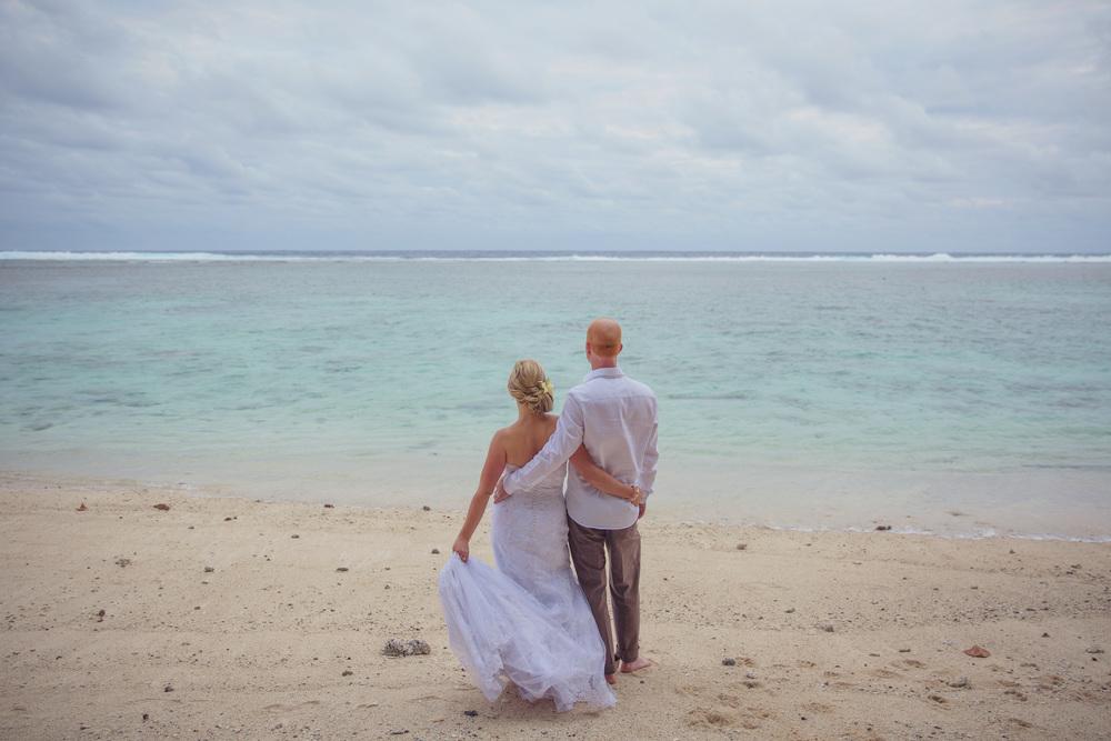 Lana and Guy - Rarotonga Edgewater Resort Wedding