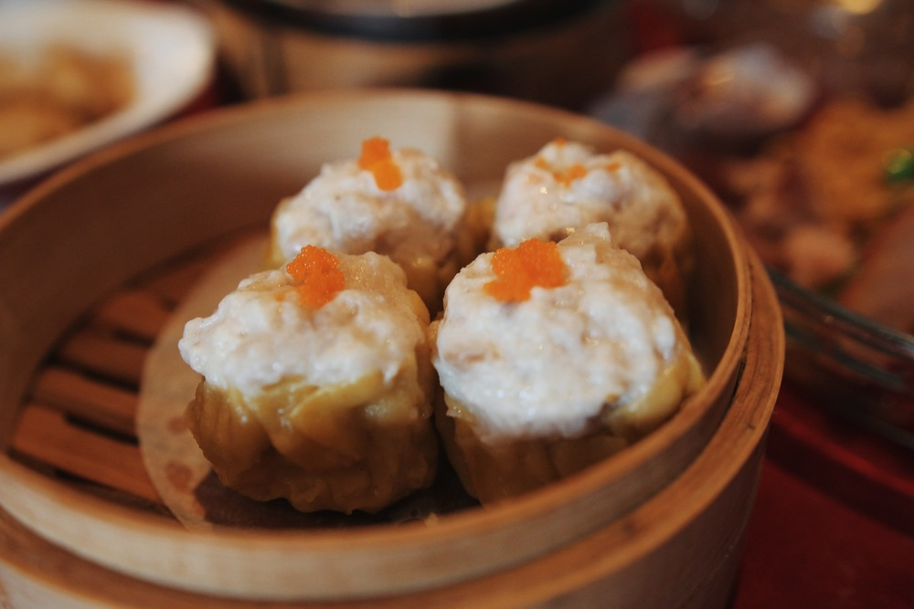 Siu Mai. Dunk it in some hot chilli oil for a thunderous kick.