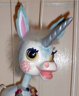 AFTER: Unicorn Head Fully Restored  [CLICK TO ZOOM]