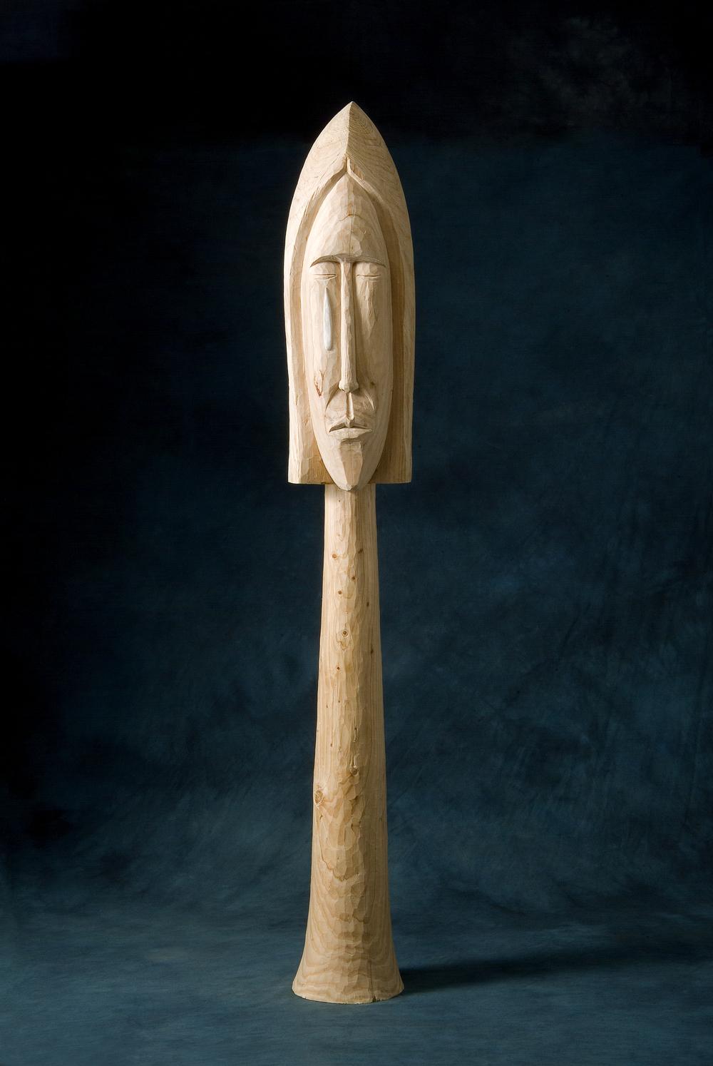 """A teardrop.W9""""L11""""H69.3"""".Wood.2006"""