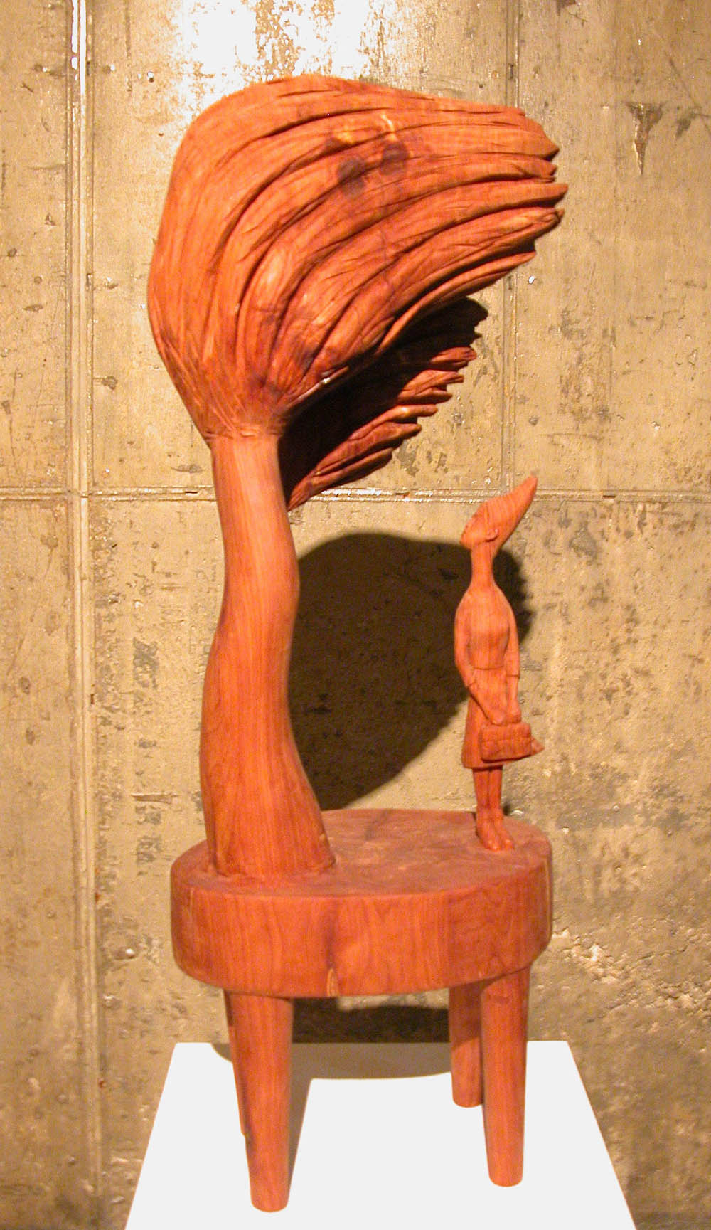"Memories of the Andante #1.W13""L9""H35.4"".Wood.2010"