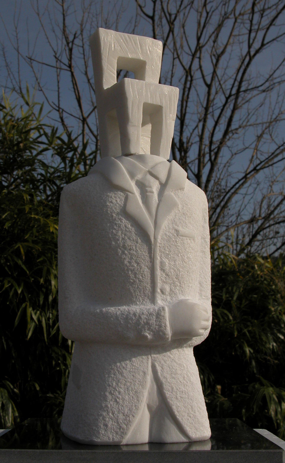 "Waiting-Winter.W9.8""L7.8""H15.7"".Marble.2009"