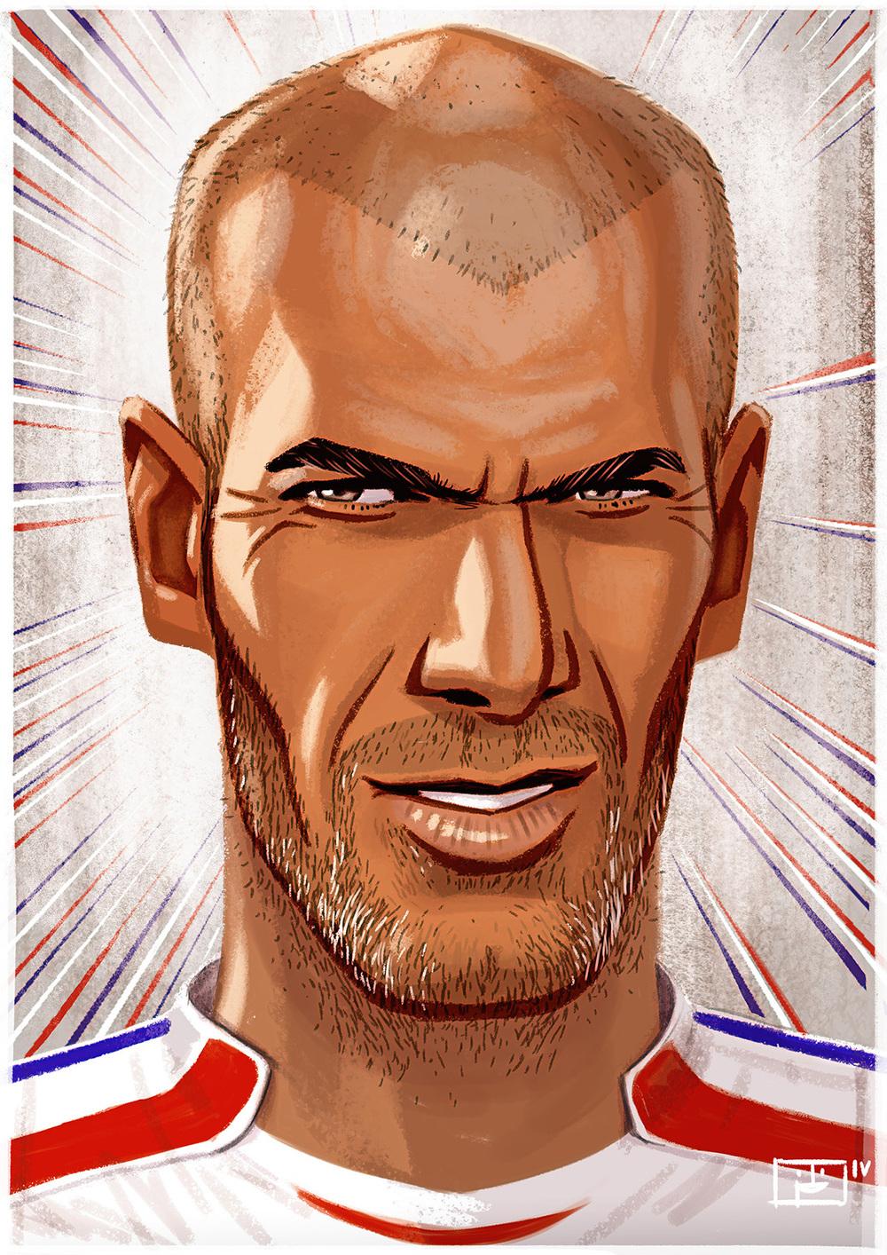 "Zinédine Zidane ""Zizou"" 2015"