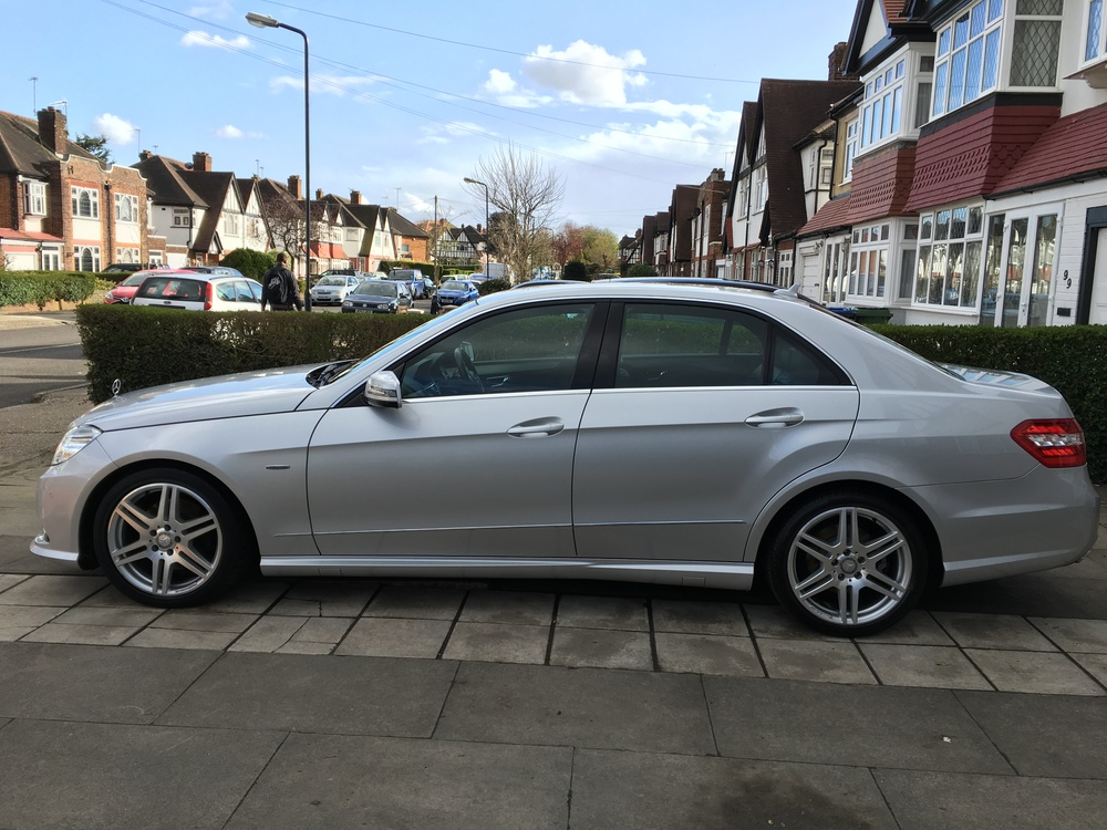 An example of a Mercedes E Class washed by Regal Vehicle Services using the above top 10 tips