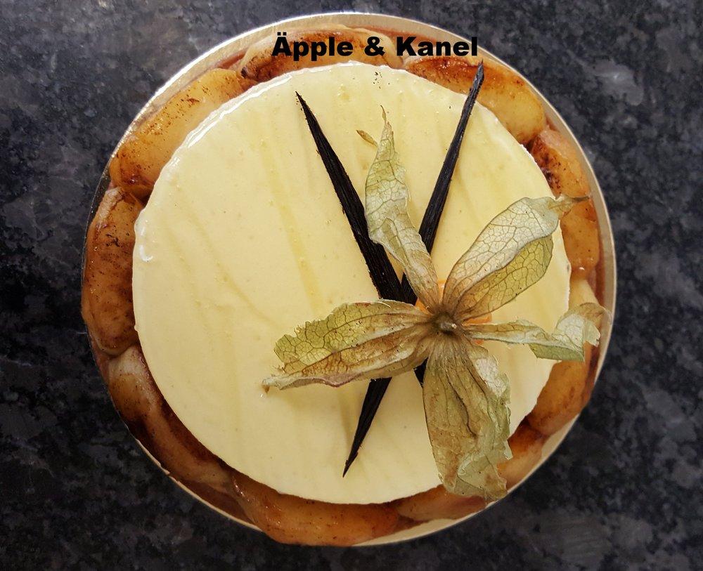 Höst tårta Äpple och Kanel