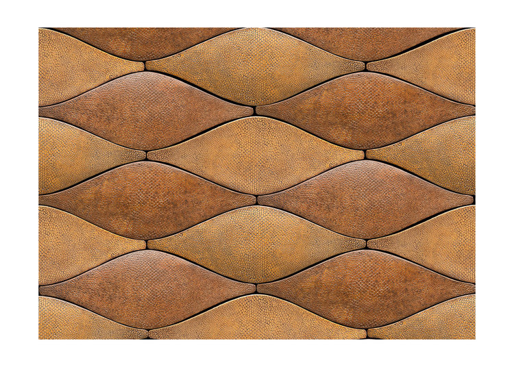 Moderne Art Deco Fish Skin Tiles Decorum Est