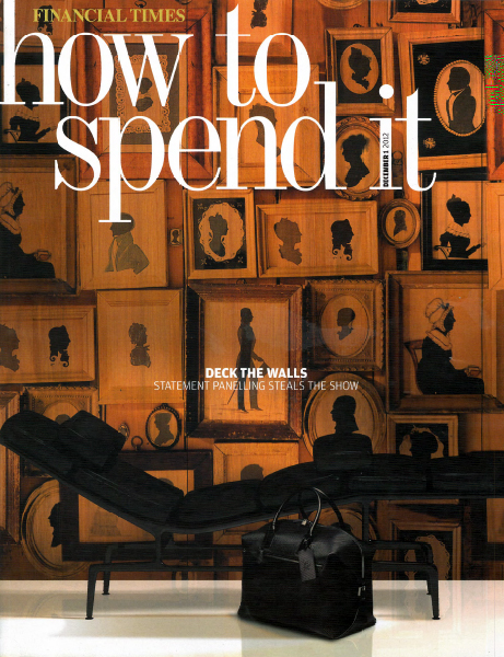 Decorum Est - FT How To Spend It December 2012