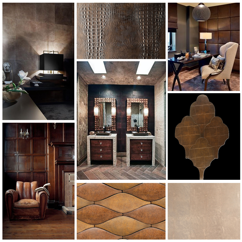 Leather Luxe Effect Decorum Est